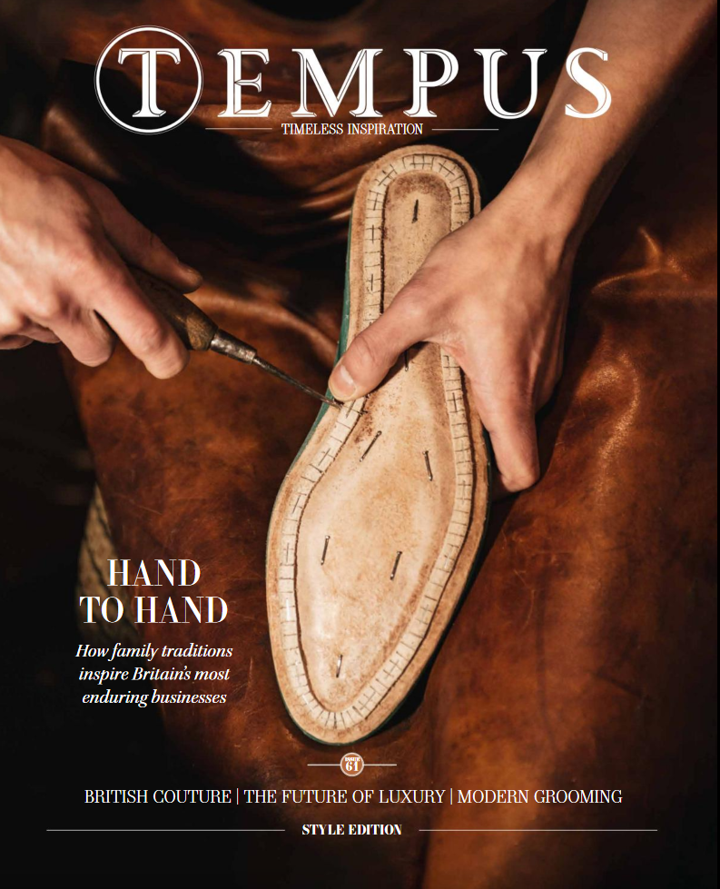 Lancaster Bangkok featured in Tempus Luxury culture and travel magazine