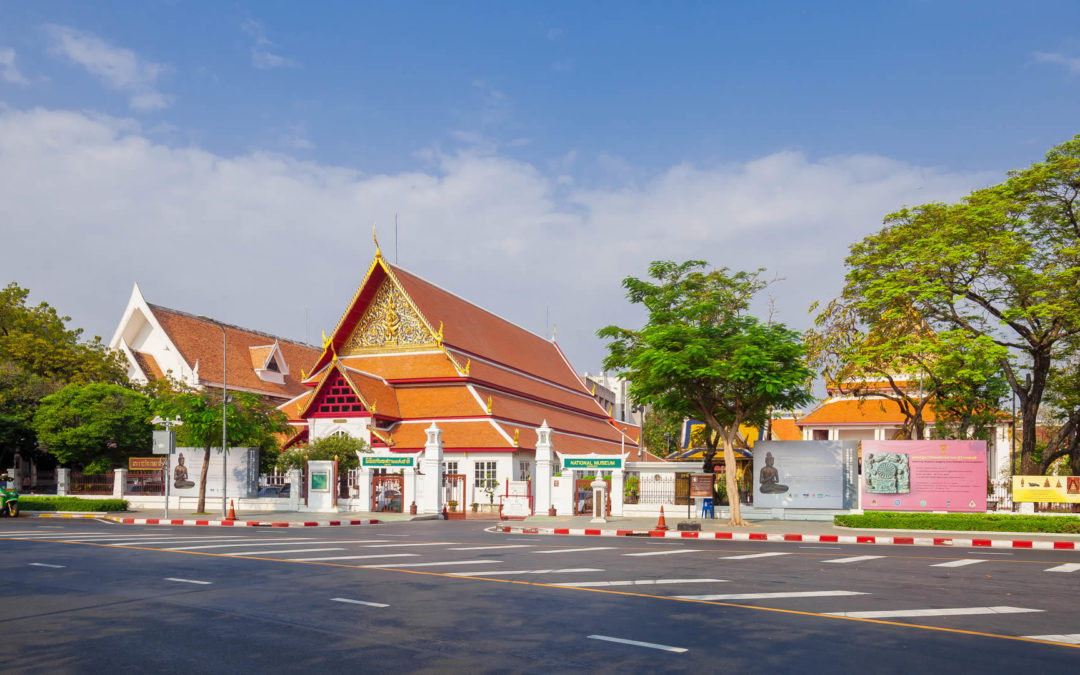 The history of Bangkok National Museum